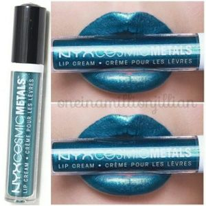 NYX Cosmic Metals Metallic Lip Cream - Electromag